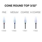 Ceramic Bit - Cone Rounded Top 3/32