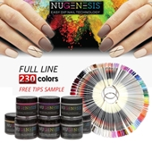 Nugenesis Dipping Powder, 2oz, Full Line Of 230 Colors (From NU 001 To NU 200, NL 001 To NL 030)