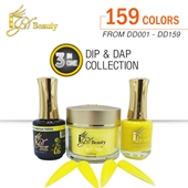 IGel 3in1 Acrylic/Dipping Powder + Gel Polish + Nail Lacquer, Dip & Dap Collection, Full Line Of 159 Colors ( From DD001 To DD159 )