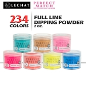 Lechat Perfect Match Dipping Powder, 1.5oz, Full Line Of 234 Colors (from PMDP001 To PMDP234)