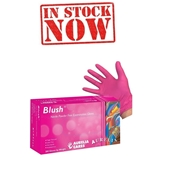 Aurelia Blush - Pink Nitrile Glove (200 GLOVES IN BOX)