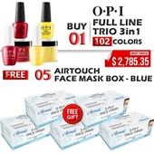 OPI 3in1 Dipping Powder + Gel Polish + Nail Lacquer, Full Line Of 102 Colors