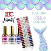 DC Gel Mermaid Collection, 0.6oz, Full Line Of 36 Colors (From 218 To 253)